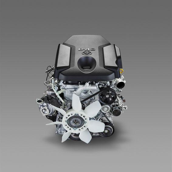 toyota diesel engine 1GD-FTV