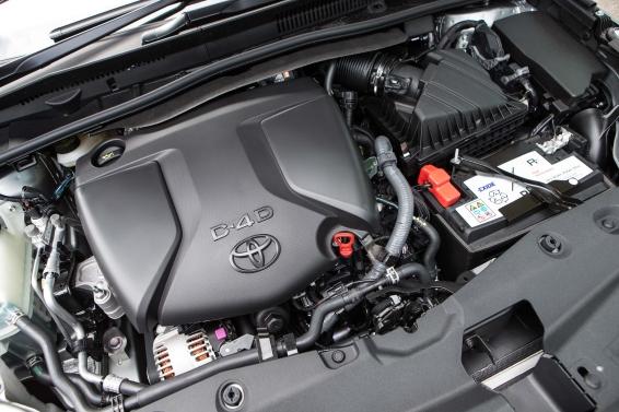 2015 Toyota Avensis D4-D diesel engine
