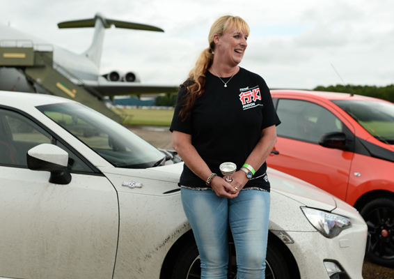 Paula Jacques Toyota Sports Day winner 2015