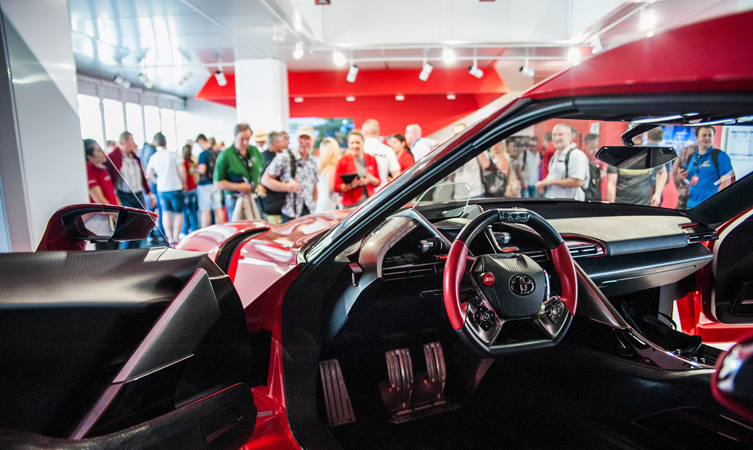 Toyota FT-1 at Goodwood Festival of Speed