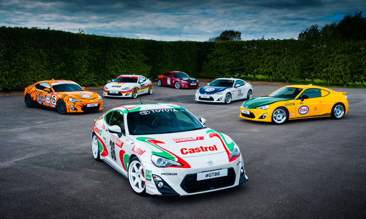 Toyota GT86 at Goodwood Festival of Speed