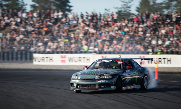 Buttsy Butler at Gatebil Toyota Soarer drift