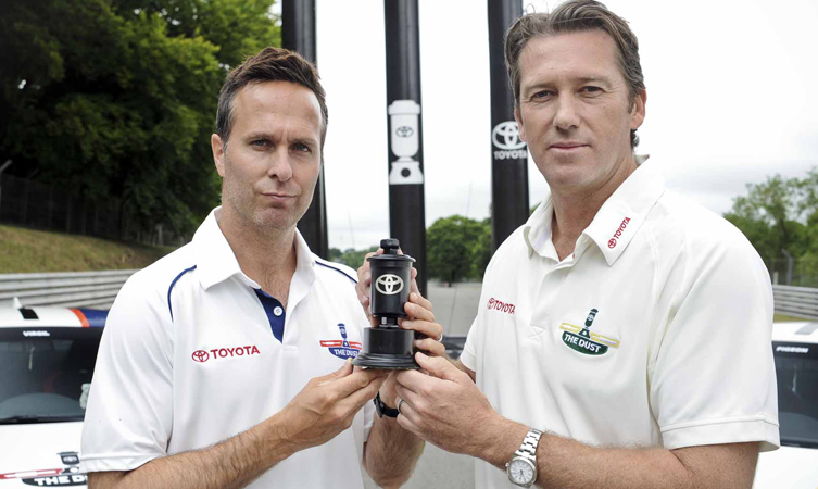 Michael Vaughan and Glenn McGrath Settle the Score