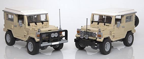 Lego Land Cruisers