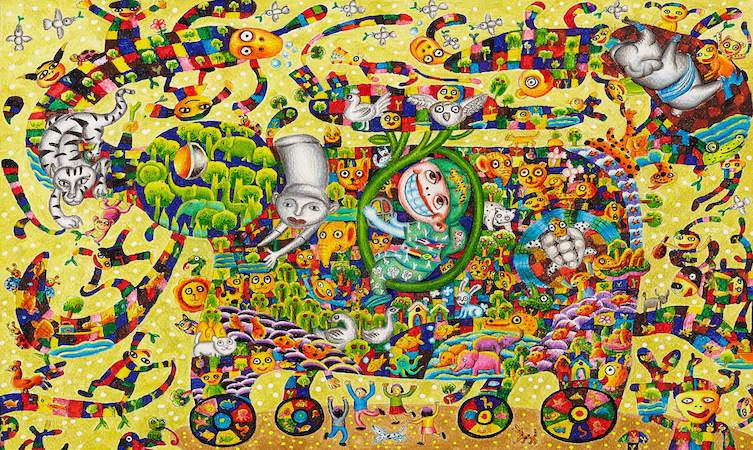Dream Car Art Contest Kanungnit Bhosree
