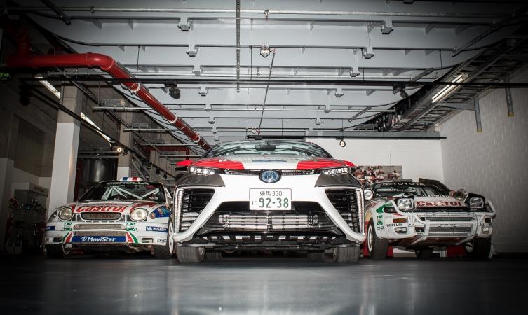 Toyota Mirai - Rallye Deutschland