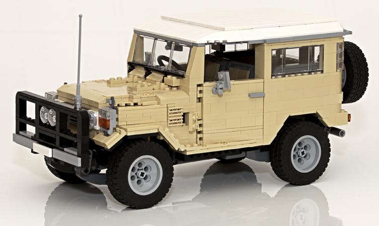 Lego Land Cruiser