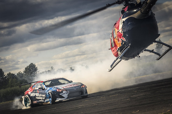 Red Bull Heli Drift GT86