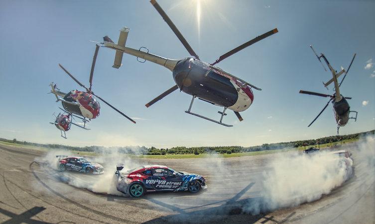 Red Bull Heli Drifting GT86