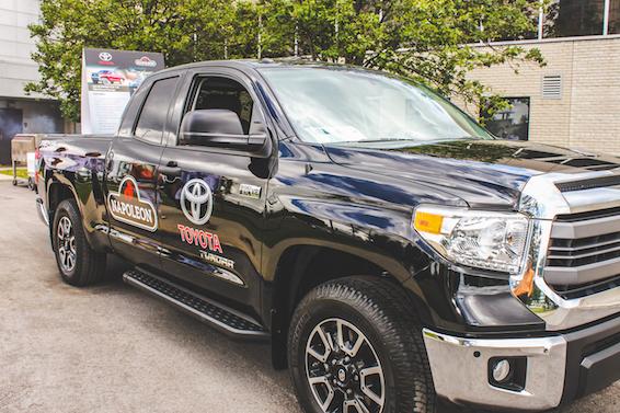 Toyota Tundra BBQ