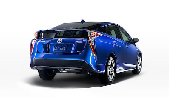 2016 Toyota Prius blue