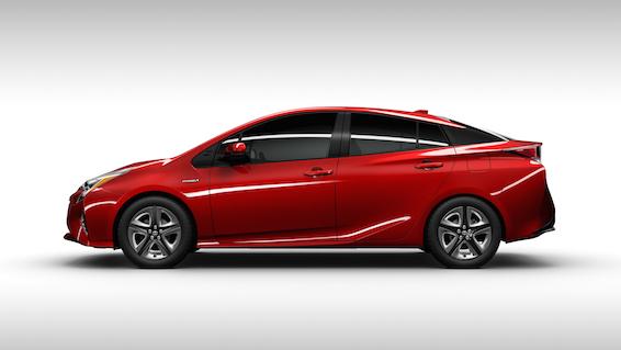 2016 Toyota Prius profile