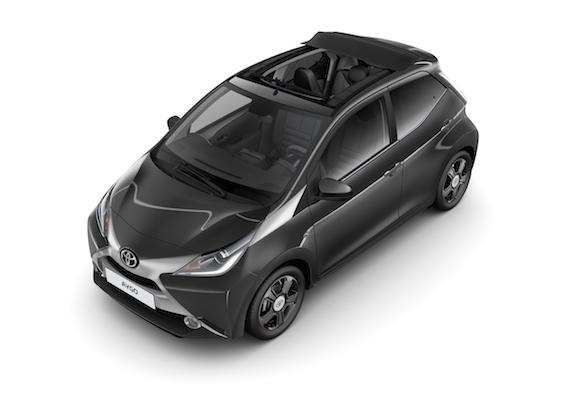 Toyota Aygo xclusiv concept 2015