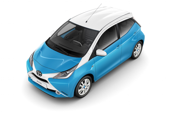 new toyota aygo x clusiv and x play at frankfurt motor show. Black Bedroom Furniture Sets. Home Design Ideas
