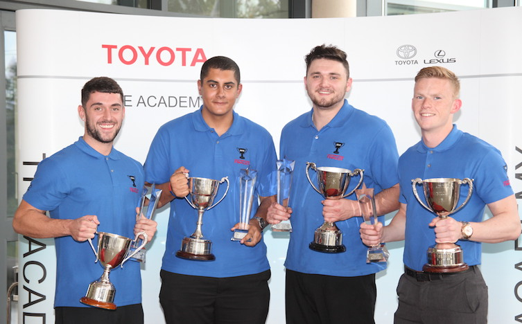 Toyota Apprentice of the Year 2015 winners