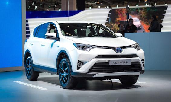 Toyota RAV4 Hybrid at Frankfurt motor show