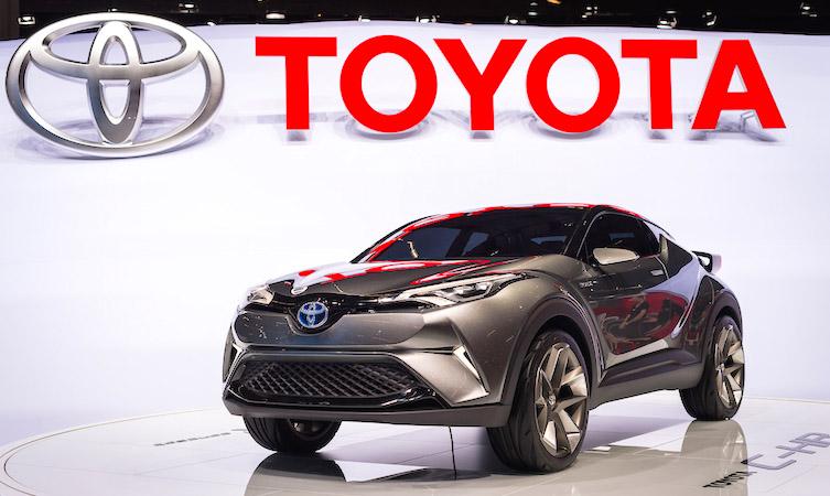 Toyota C-HR Concept Frankfurt motor show