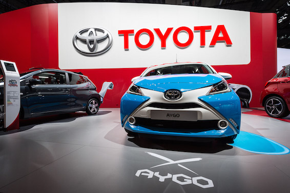 Toyota Aygo xplay concept Frankfurt
