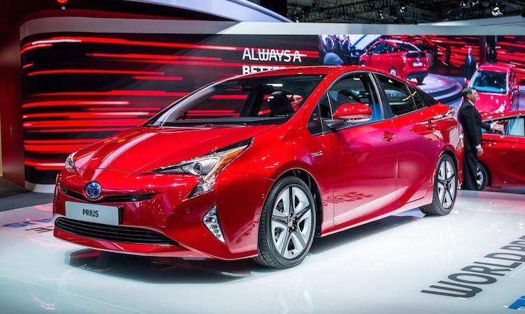 Toyota Prius unveil
