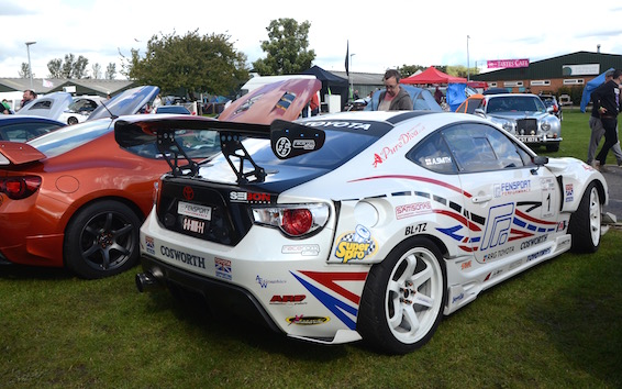 Sprint Toyota GT86 - A. Smith