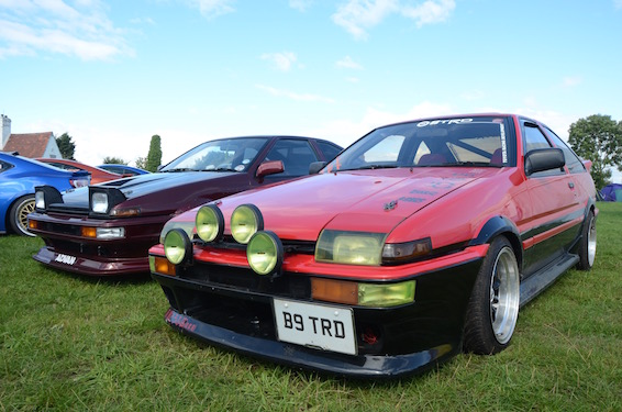 AE86 on GT86 stand JAE 2015