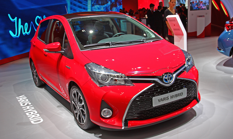 Toyota 2016 Models >> 2016 Toyota Yaris For Europe Shown At Frankfurt Motor Show