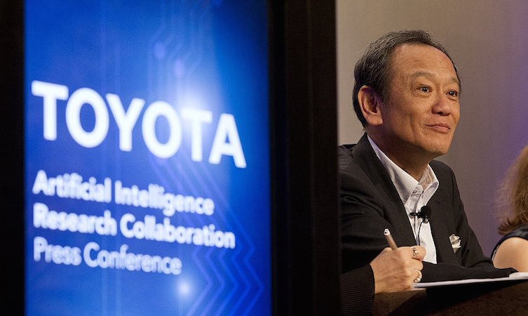 Toyota intelligent cars partnership