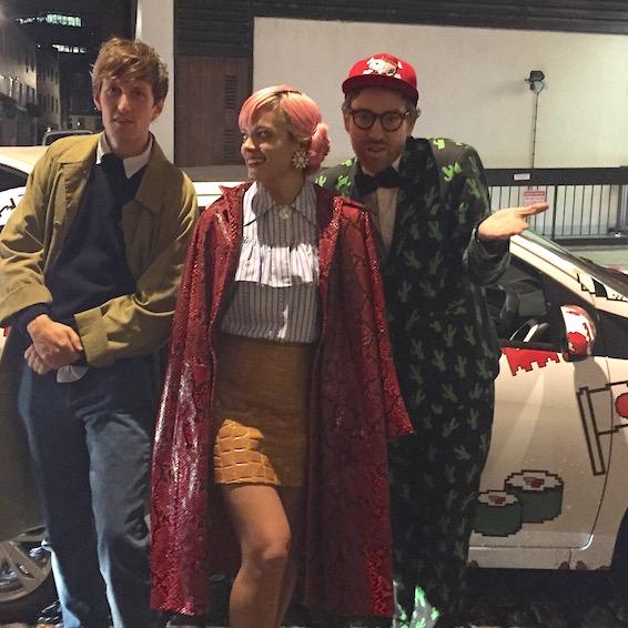 Lily Allen London Fashion Week 2015 The Rodnik Band Toyota Aygo