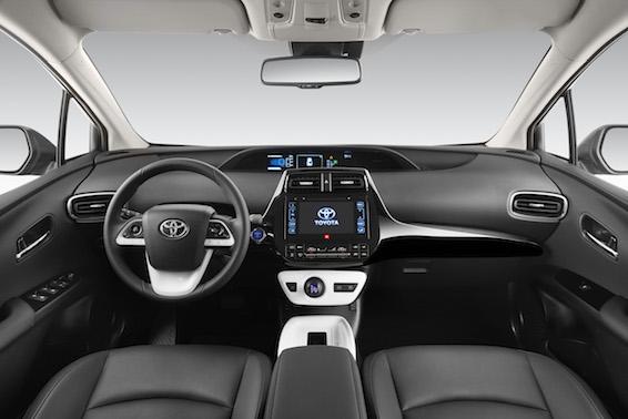 Prius 2016 interior