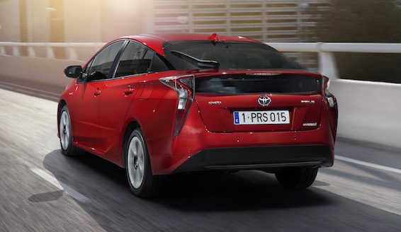 Toyota Prius 2016 rear