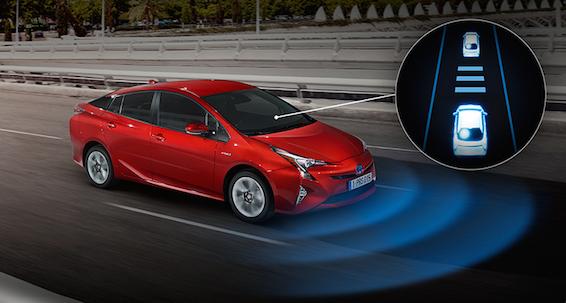 Toyota Prius Toyota Safety Sense