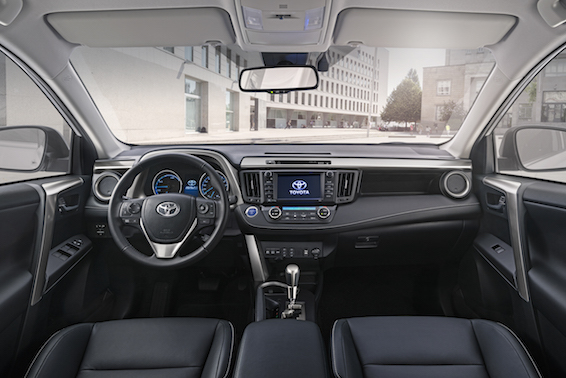 Toyota RAV4 2016 interior