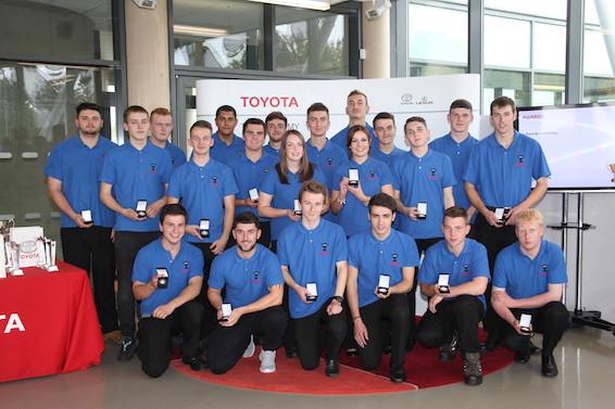 Toyota Apprentices