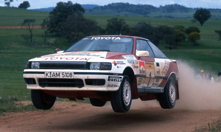 History Of Toyota In World Rallying 1980s