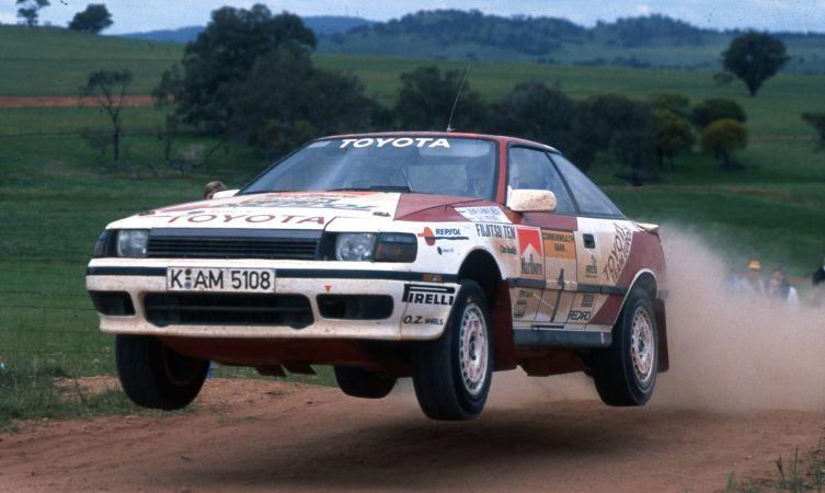 Toyota Australia 1989 Kankkunen