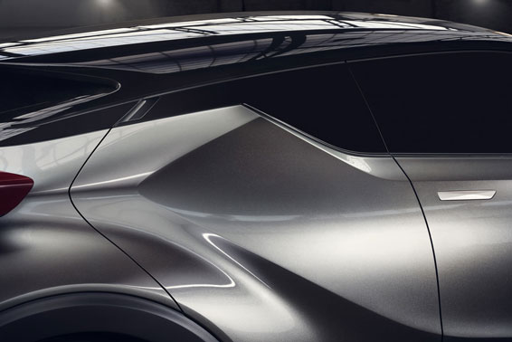 Toyota C-HR roof