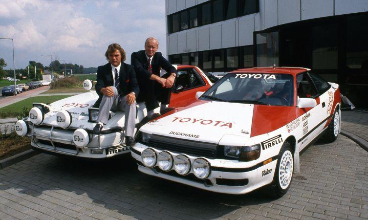 Toyota Cologne 1987 Torph (l) Waldegard