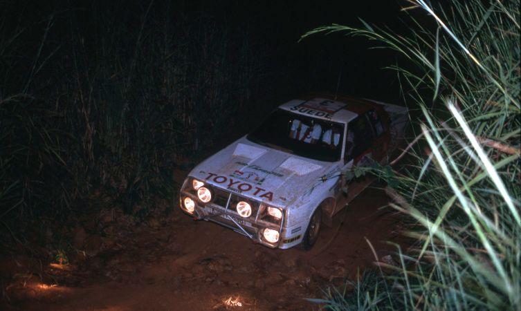 Toyota Ivory Coast 83 Waldegard