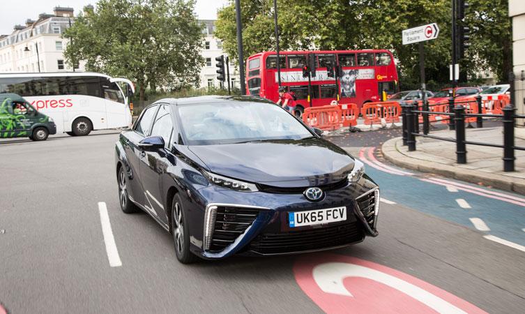 Toyota Mirai in London