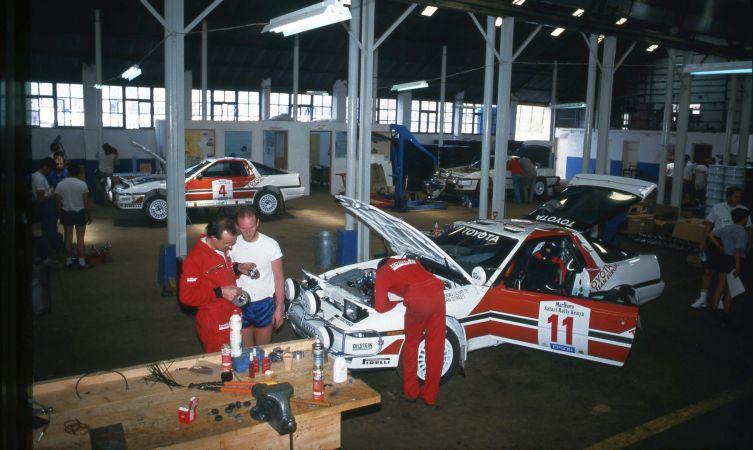 Toyota Safari 1987 Supra cars