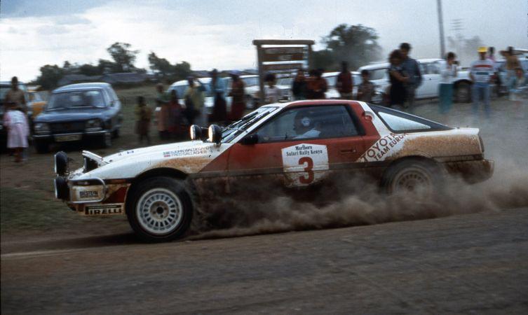 Toyota Safari 1987 Waldegard Supra