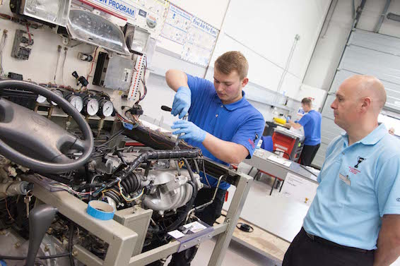 Toyota Apprentice of the Year competition 2015