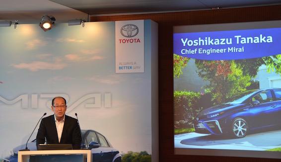 Mirai Chief Engineer Tanaka
