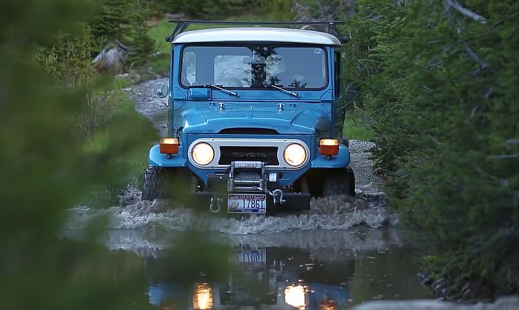 Stunning Fj40 Toyota Land Cruiser Reviewed By Petrolicious
