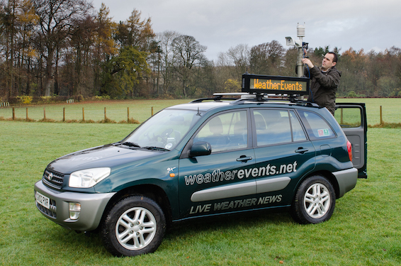 Graham Smith Toyota RAV4 weatherevents.net
