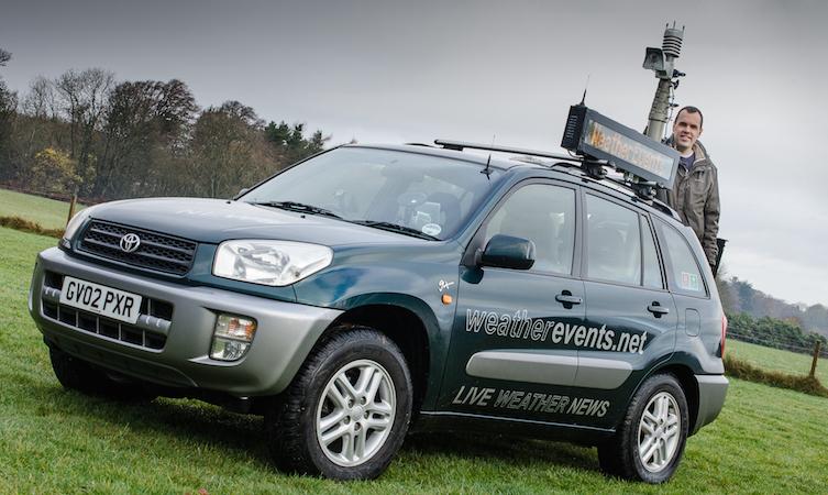 Graham Smith Toyota RAV4 weather station