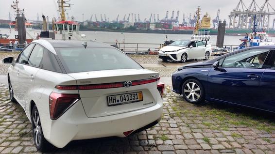 Mirai first drive European Launch