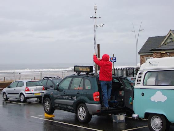 Weather RAV4 mast