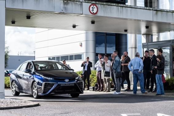 Mirai at Toyota Europe
