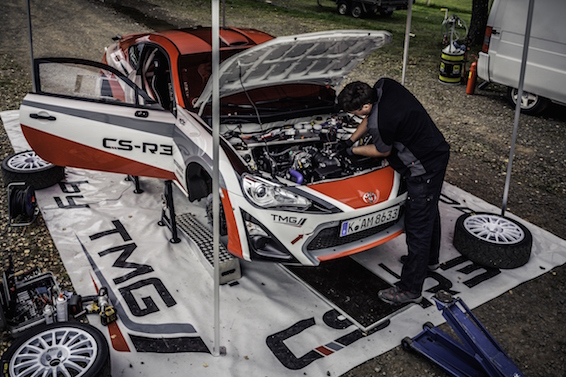 Toyota GT86 CS-R3 rally